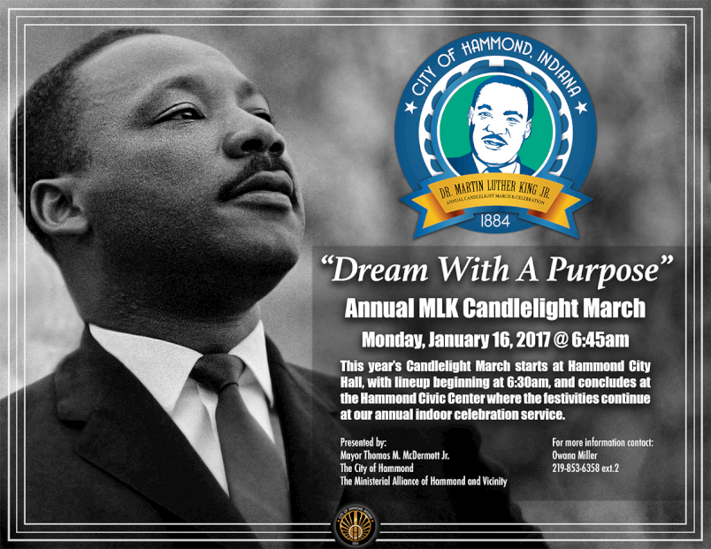 Annual MLK Candlelight March & Celebration