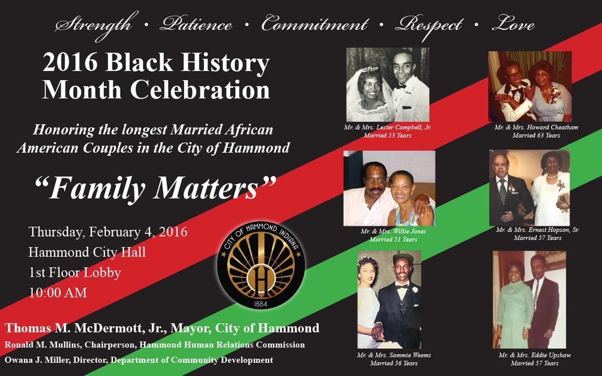 2016 Black History Month Celebration