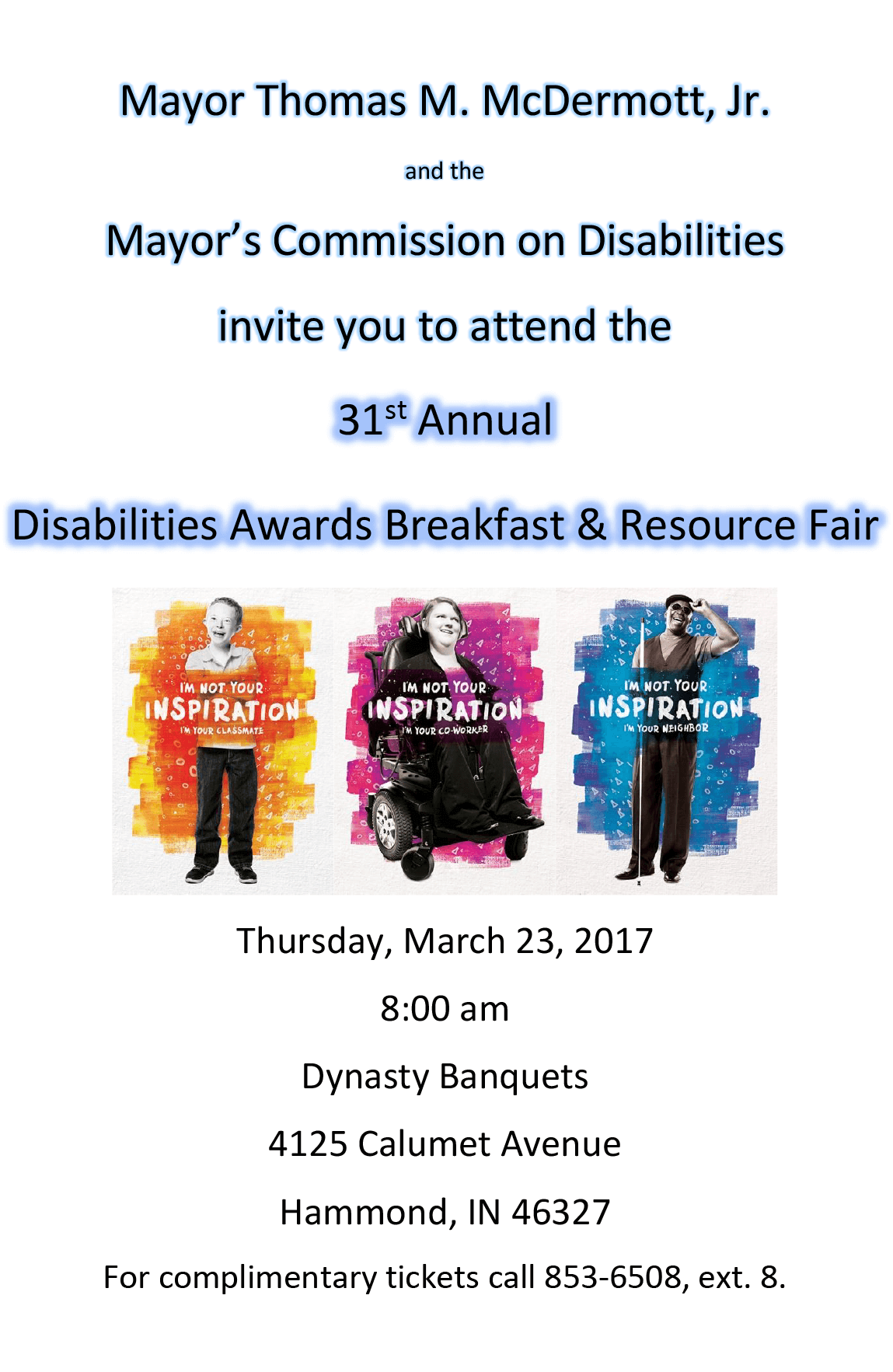 31st Annual Disabilities Awards Breakfast