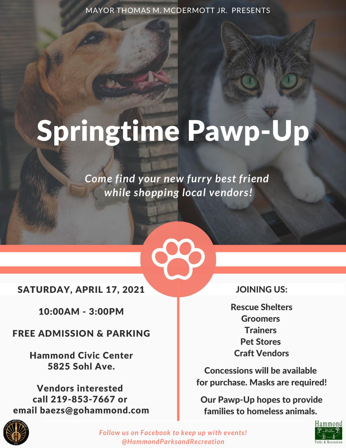 Springtime Pawp-up