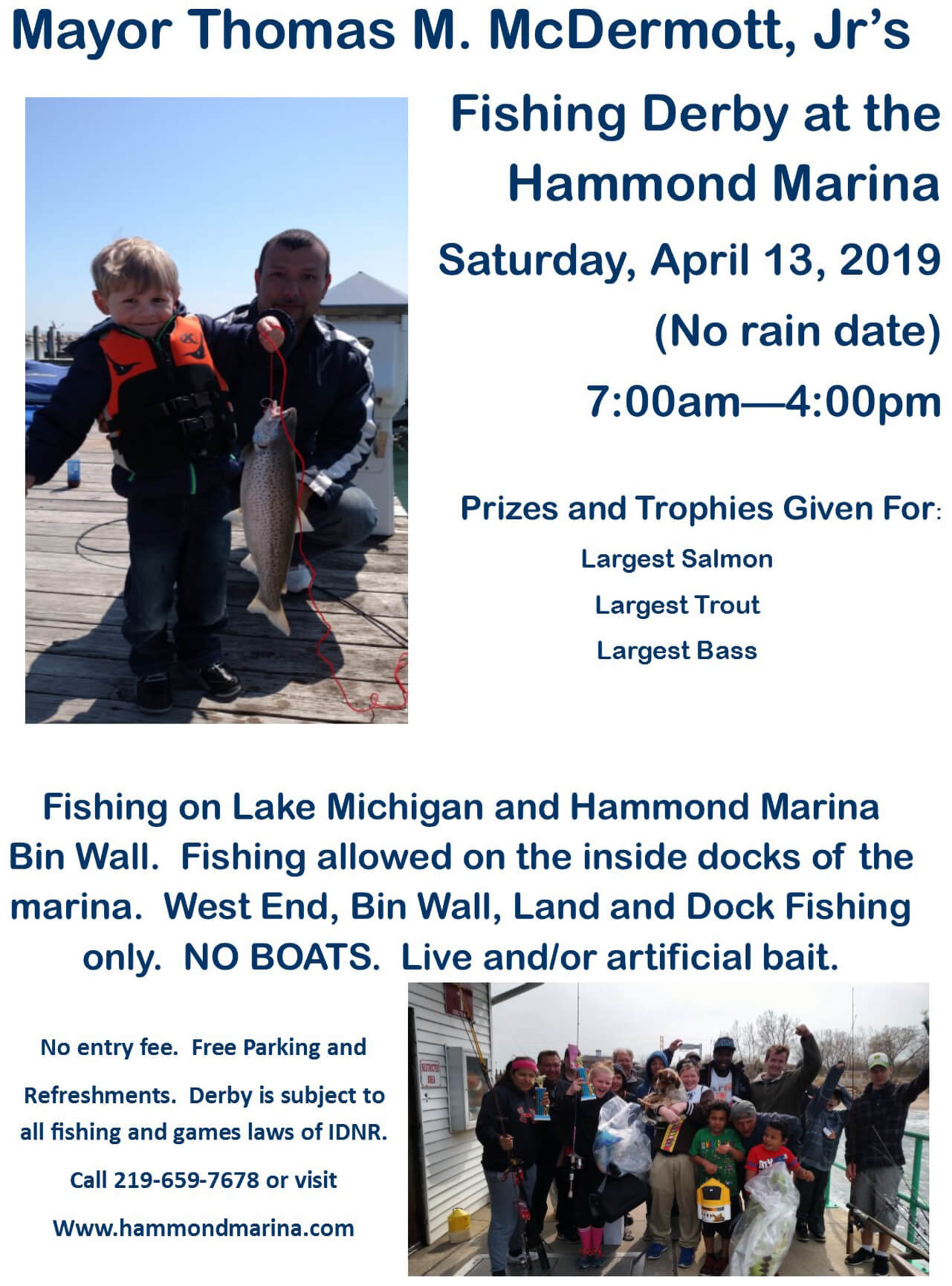 Hammond Marina Fishing Derby