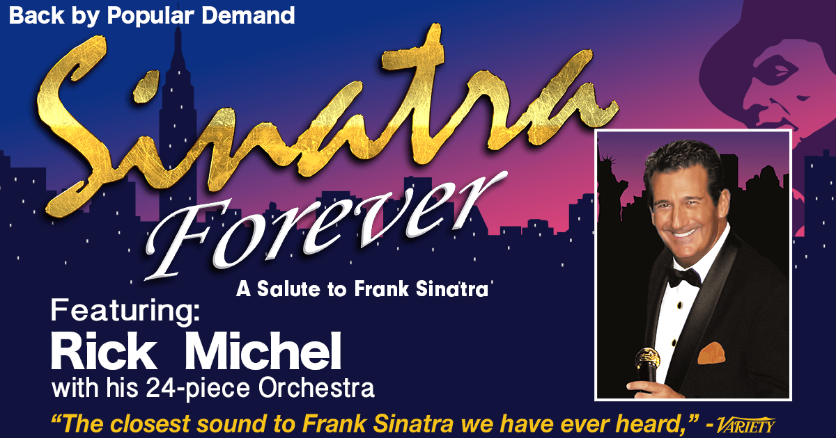 """Featured image for """"Sinatra Forever @ The PAV"""""""