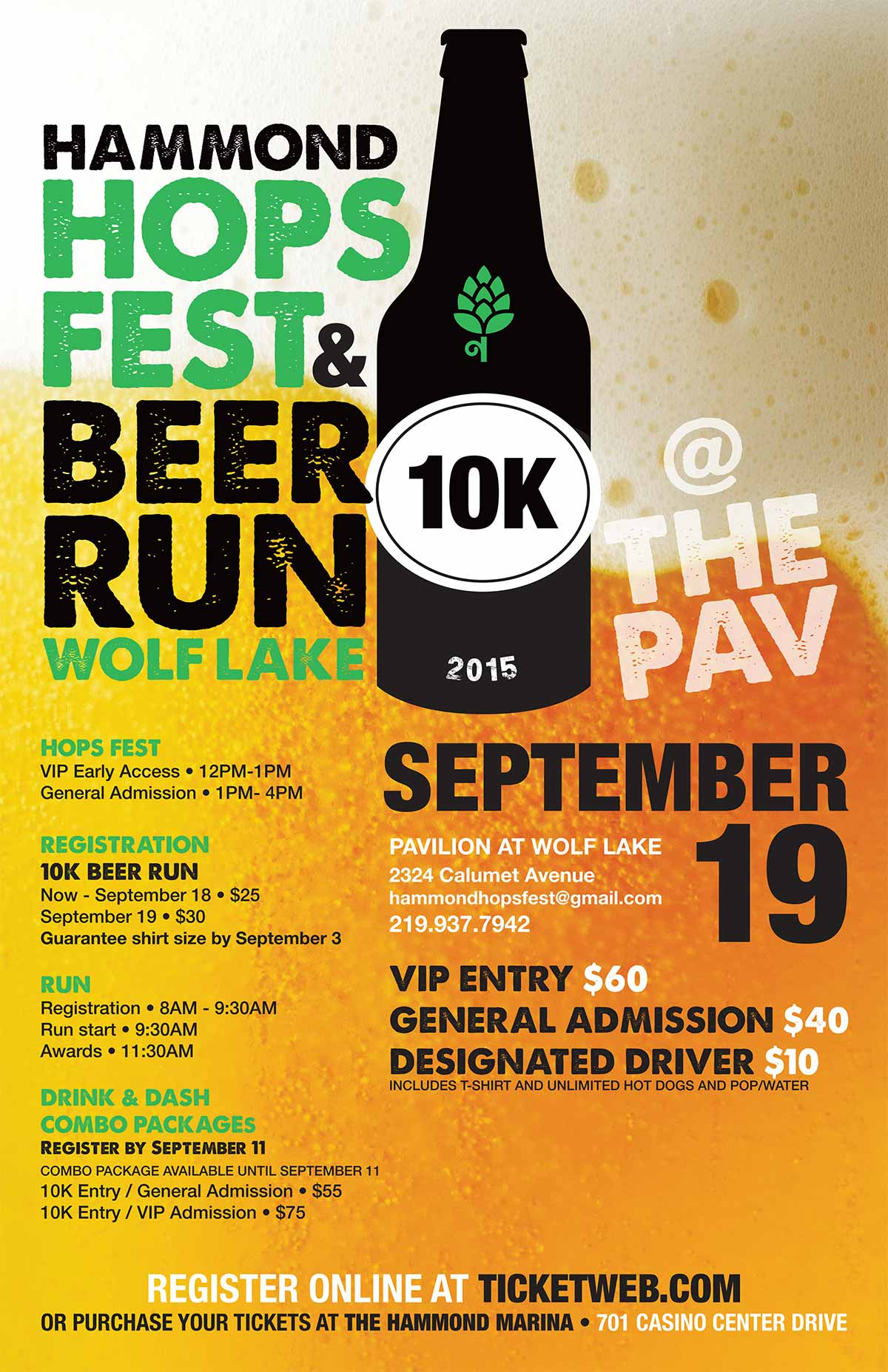 Hammond Hops Fest and 10K Beer Run