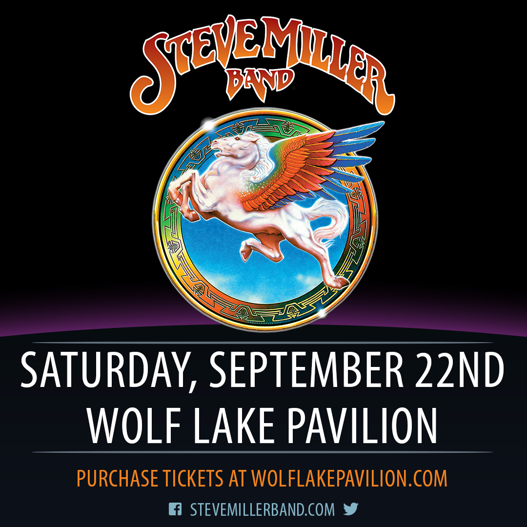 Get tickets at wolflakepavilion.com
