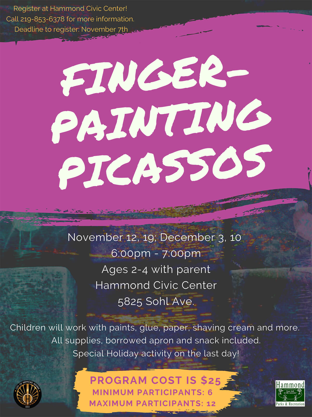 Finger Painting Picassos