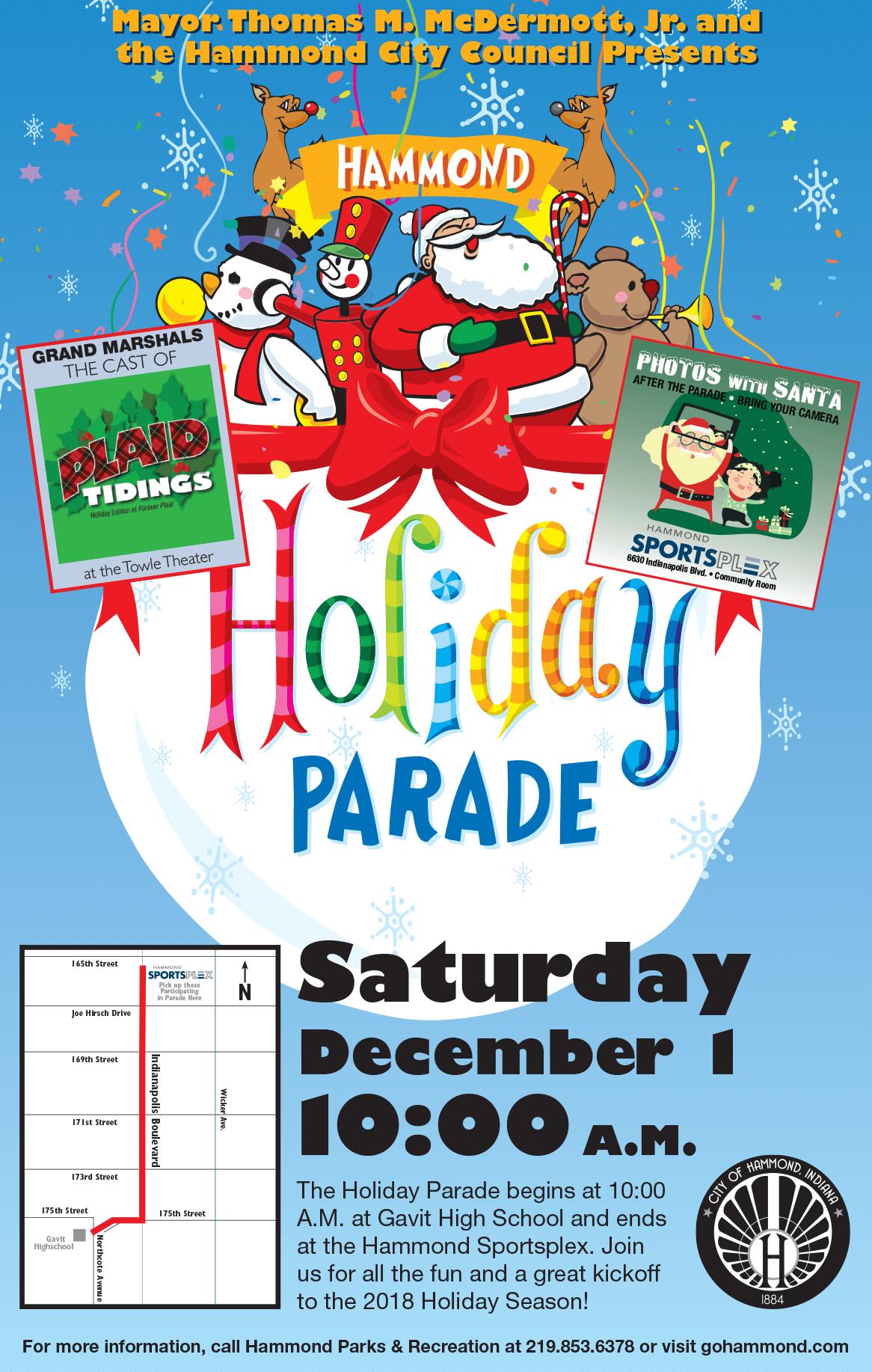 2018 Hammond Holiday Parade