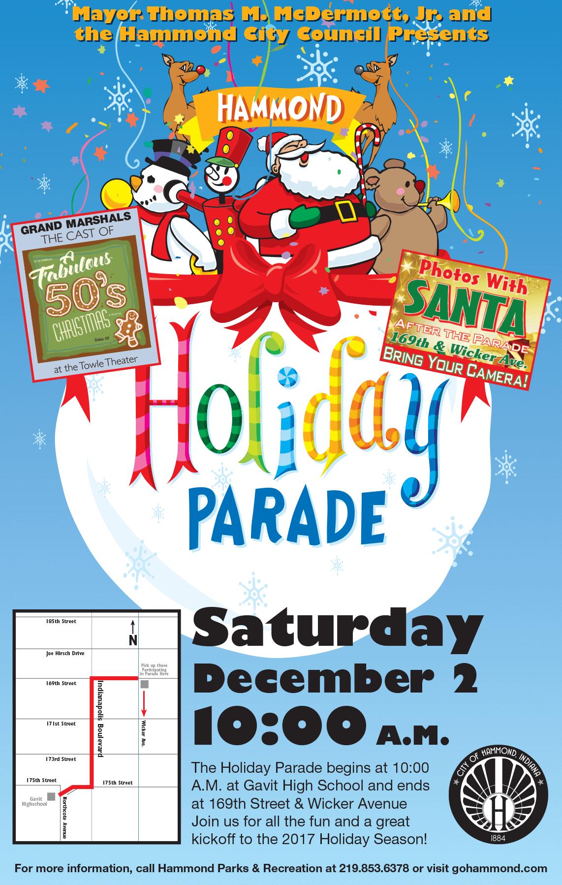 2017 Hammond Holiday Parade