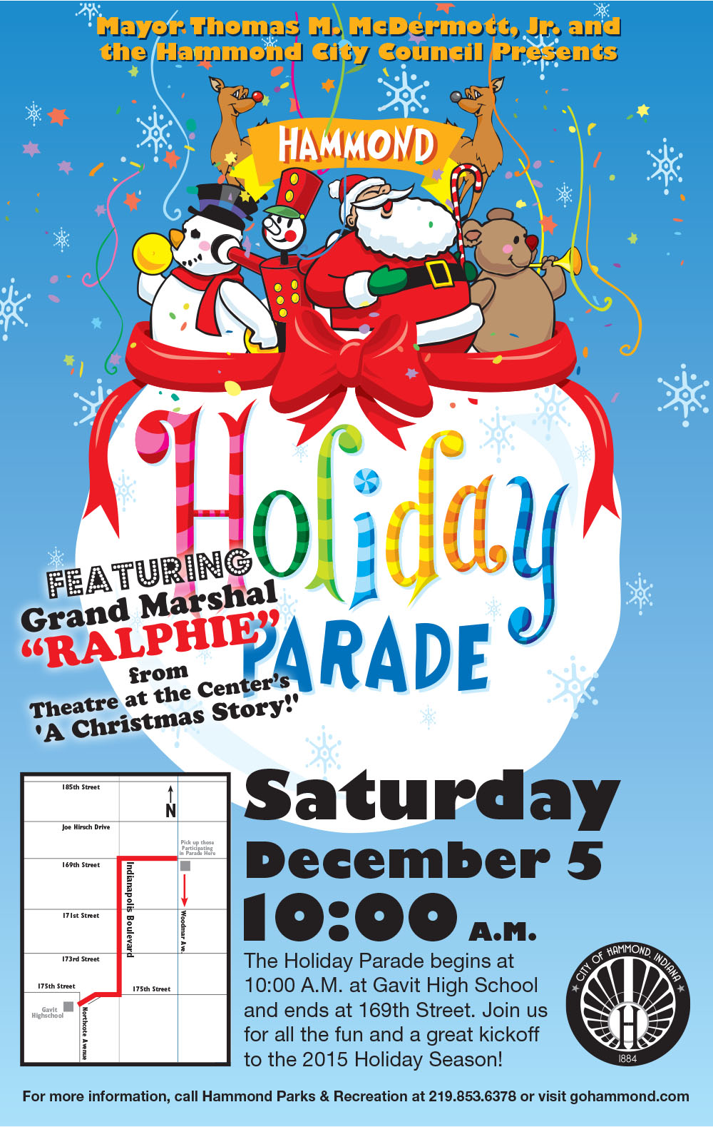 2015 Hammond Holiday Parade