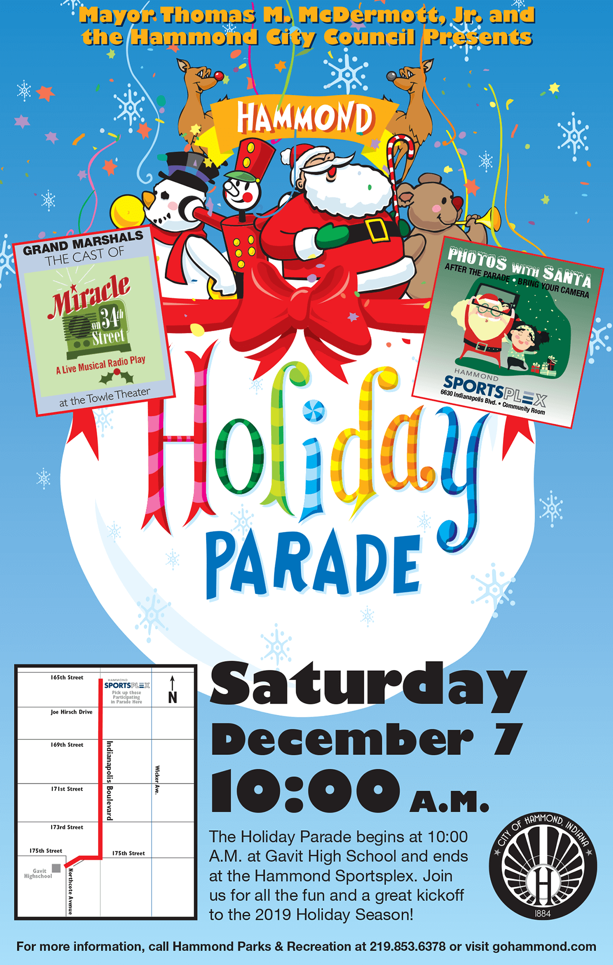2019 Hammond Holiday Parade