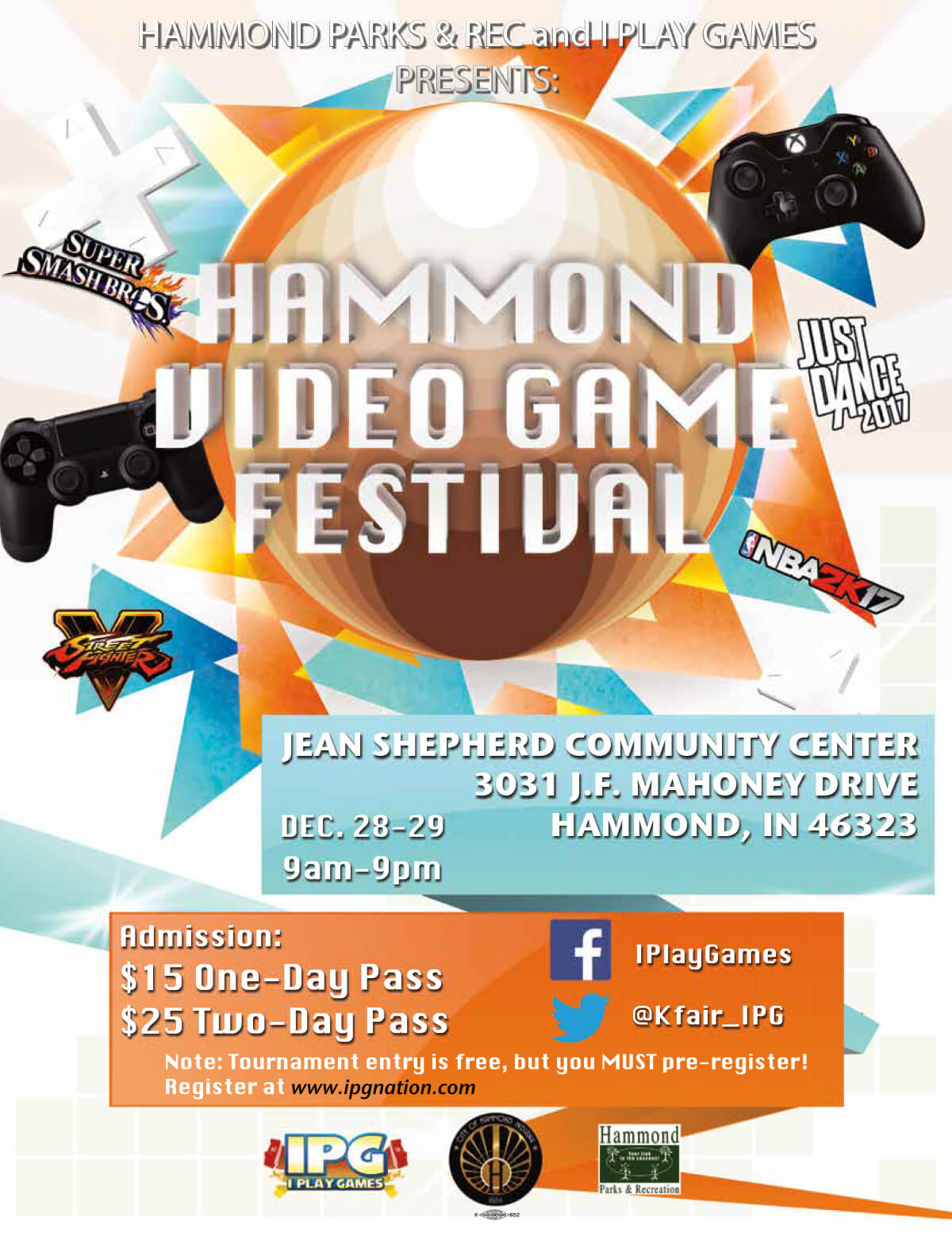 Hammond Video Game Festival