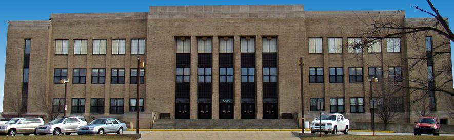 Hammond Civic Center exterior view
