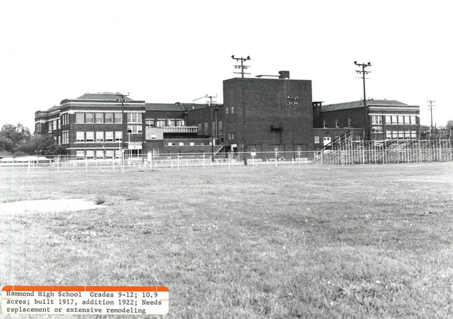 Back side prior to fire, July 1967