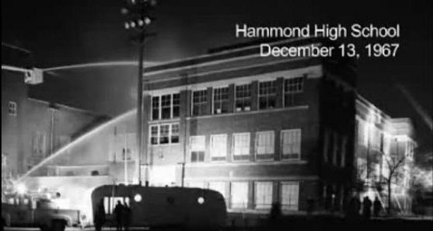 Fire at Hammond High School, 1967