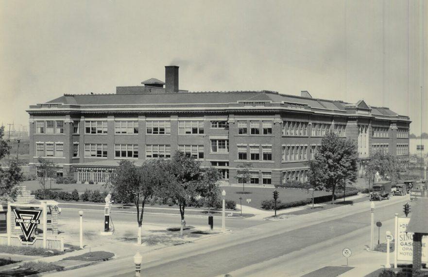 Hammond High School, Southeast view, 1922