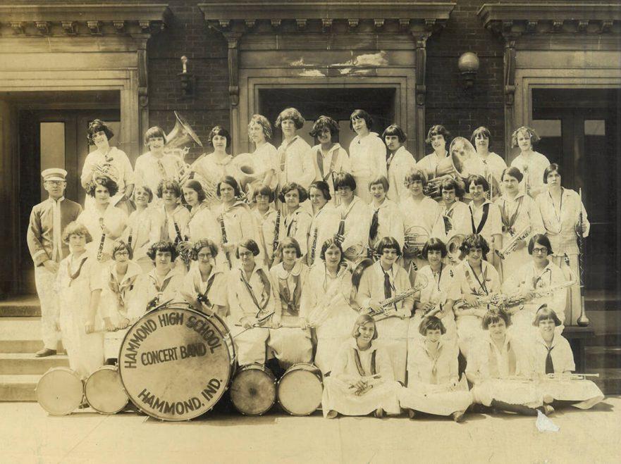 Hammond High School Concert Band, circa 1930