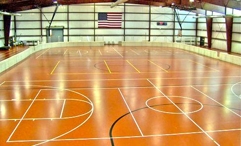 Jean Shepherd Community Center gym view